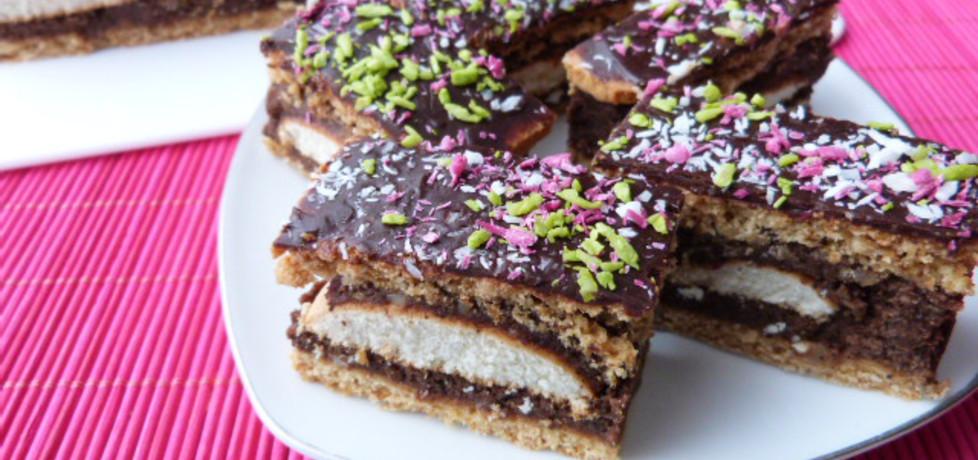 Ciasto z masą kawową i biszkoptami (autor: renatazet ...