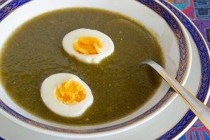Zupa szczawiowa halszki  prosty przepis i składniki