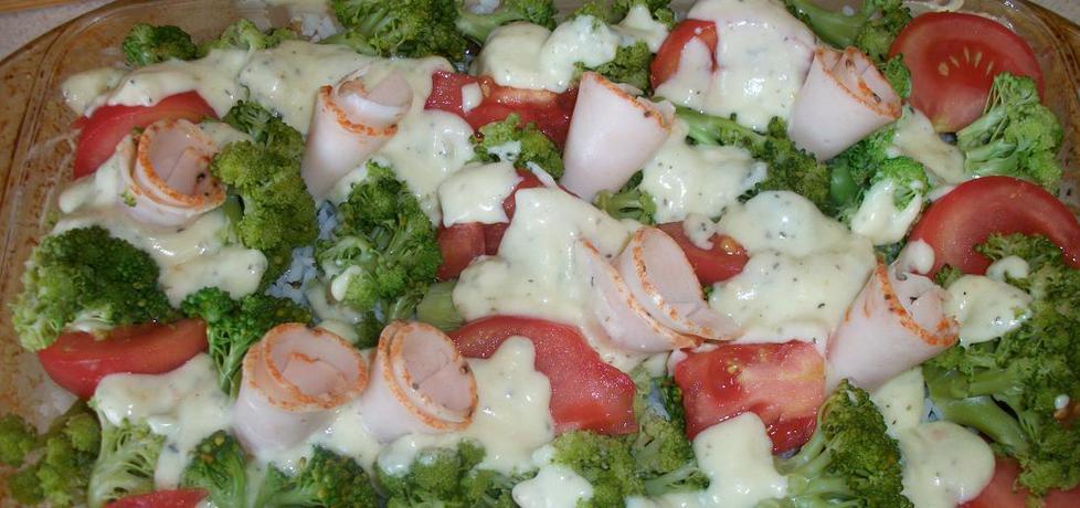 Zapiekanka mięsno- brokułowa (autor: ewaa)