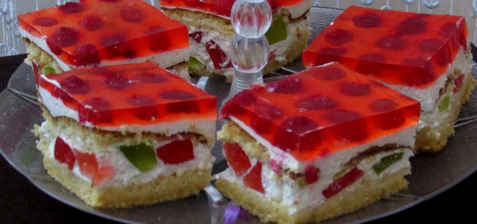 Ciasto bajka z malinami (autor: julkatomeczek)
