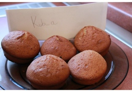 Muffiny karmelowe