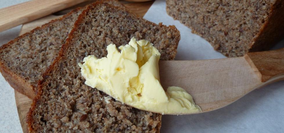 Chleb żytni razowy z siemieniem lnianym (szybki) (autor: malami89 ...