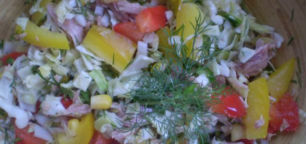 Sałatka warzywna z tuńczykiem (autor: iwa643)