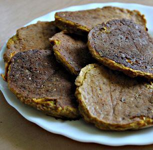 Placki z dyni/ dyniowe pancakes