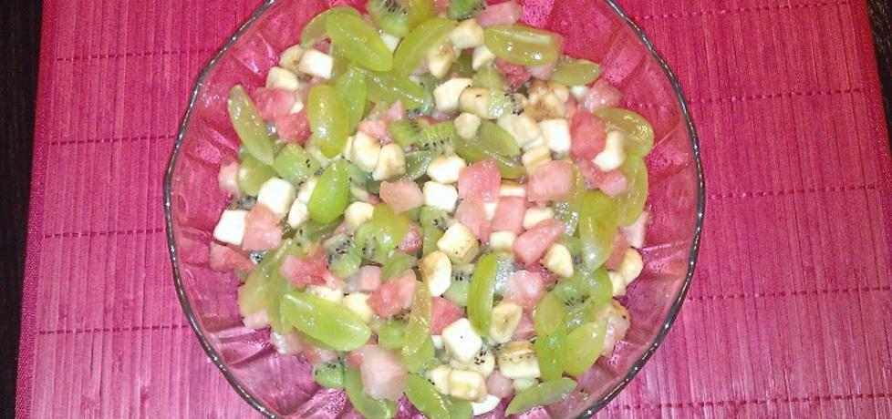 Sałatka owocowa egzotyczna (autor: ankaryba)