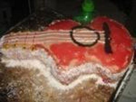 Przepis  tort gitara przepis