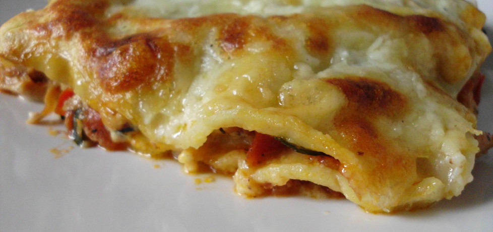 Domowa lasagne z kurczakiem (autor: borgia)