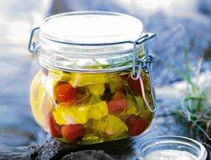 Feta w oliwie  prosty przepis i składniki