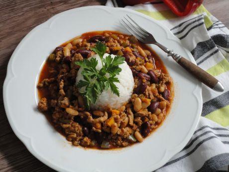 Przepis  chili con carne przepis