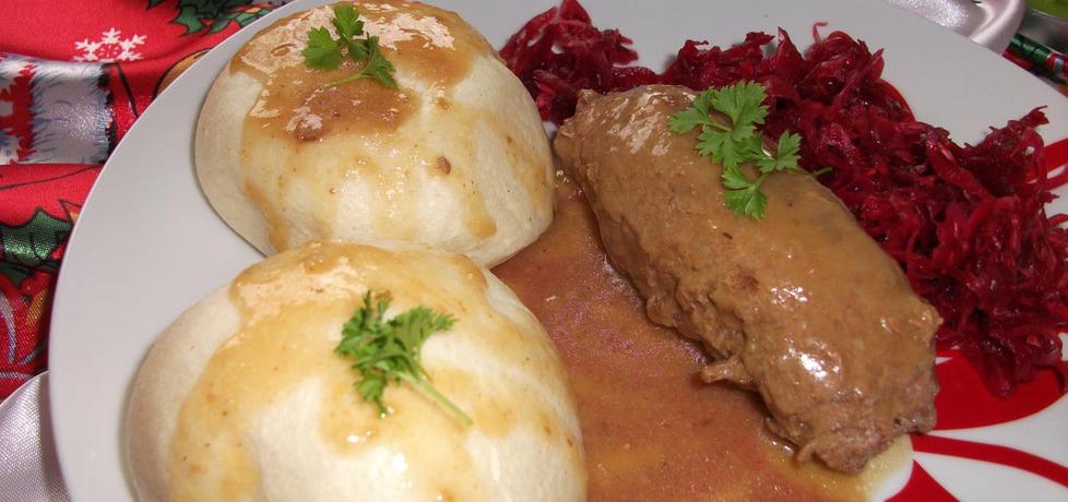 Rolada wołowa w sosie chlebowym (autor: adelajda ...