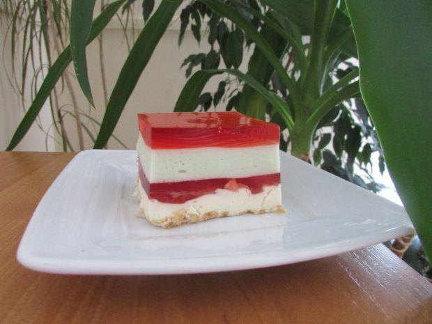 Przepis  ciasto z masami i galaretkami przepis