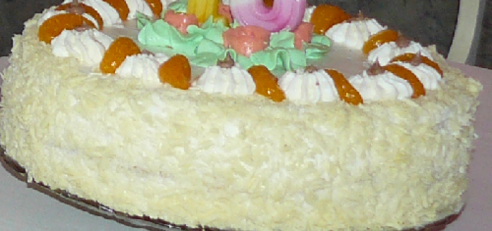 Tort biszkoptowy (autor: magdalena1110)