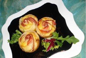 Karnawałowe tosty  róże  prosty przepis i składniki