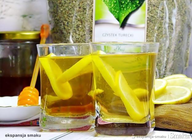 Aromatyczna herbata z czystka