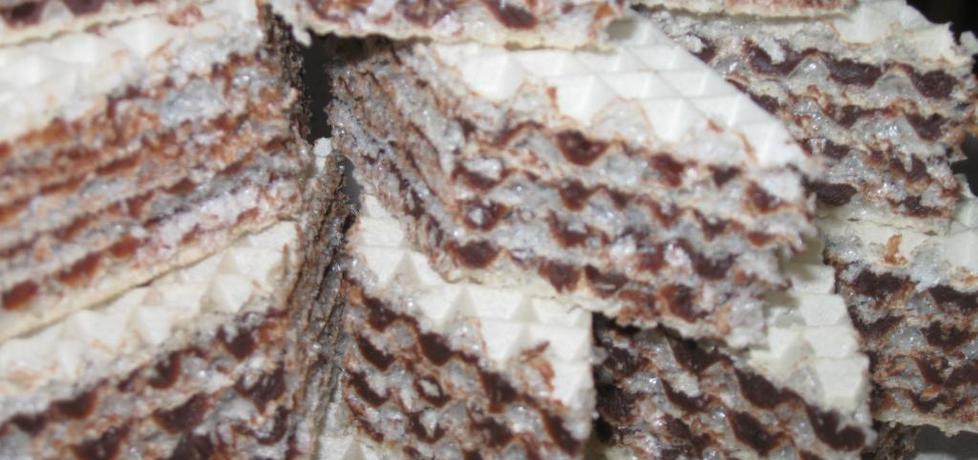 Wafle czekoladowe (autor: pola5)