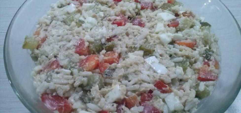 Sałatka ryżowa z tuńczykiem (autor: gottrina)