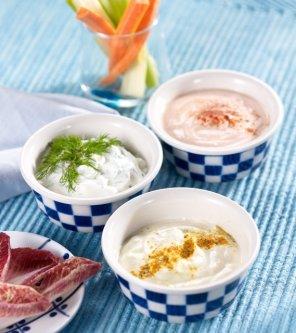 Jogurtowe dipy  prosty przepis i składniki