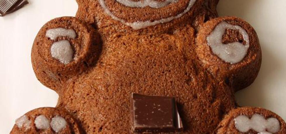 Czekoladowe ciasto miś (autor: iwonadd)