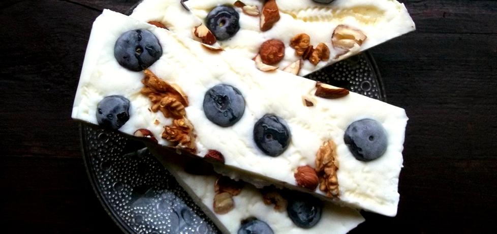 Mrożony jogurt grecko z dodatkami (autor: caralajna ...