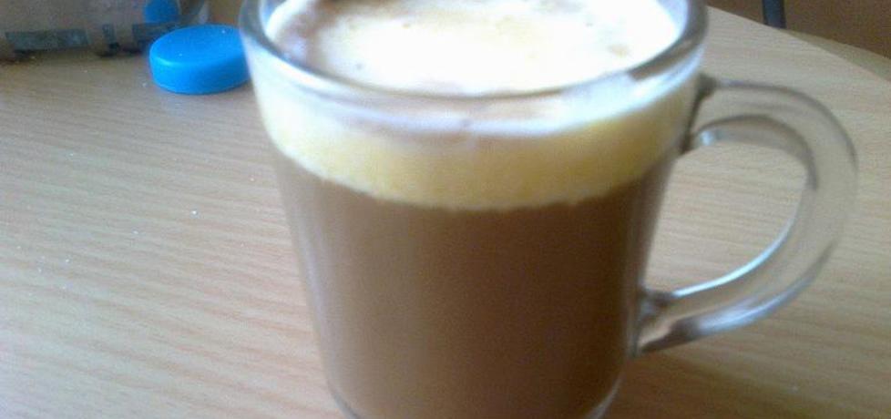 Delikatna kawa z jajkiem ;-) (autor: smakosz1988)
