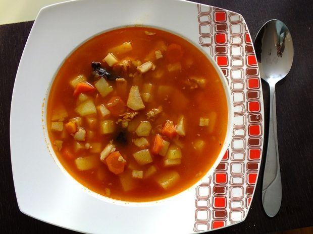 Przepis  zupa ogonowa z warzywami przepis