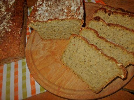 Przepis  cukiniowy chleb z pestkami i płatkami przepis