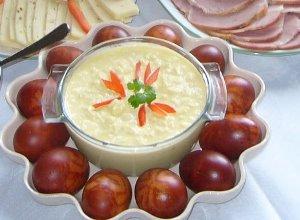 Wielkanocny sos jajeczny  prosty przepis i składniki