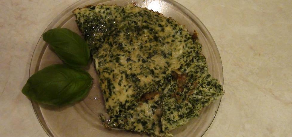 Poranny omlet ze szpinakiem (autor: kasnaj)