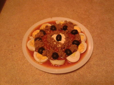 Algierska sałatka z grila