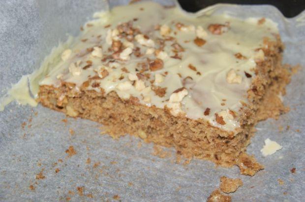 Przepis  ciasto z dyni z białą czekoladą przepis