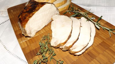 Schab do chleba moczony w mleku