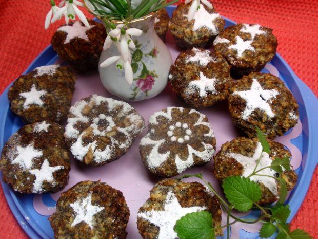 Przepis  muffinki z makiem i płatkami jaglanymi przepis