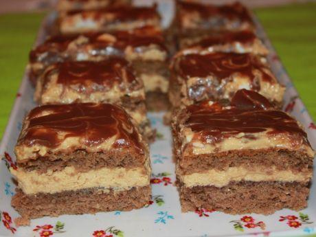 Przepis  ciasto czekoladowo-kajmakowe przepis