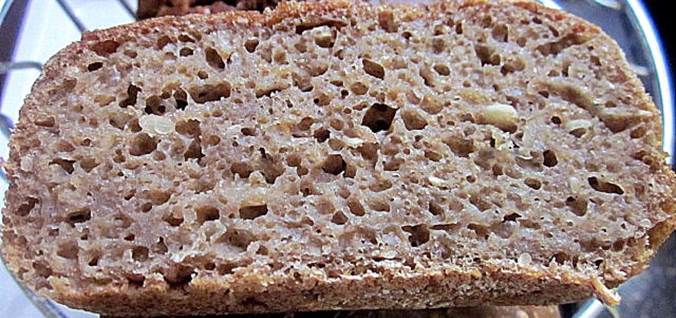 Chleb pszenny razowy z mąką orkiszową na zakwasie żytnim (autor ...