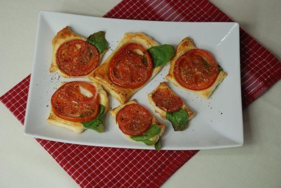 Przepis  przekąski z pomidorem przepis