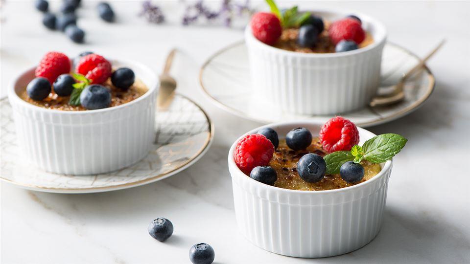 Przepis na jaglany crème brûlée
