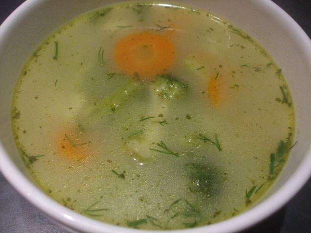 Przepis  zupa brokułowo  kalafiorowa przepis