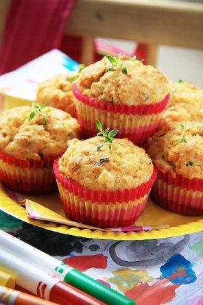 Muffinki z szynką i serem  prosty przepis i składniki