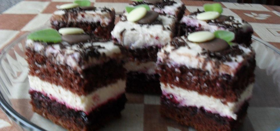 Ciasto z dzemem z czarnej porzeczki (autor: urszula