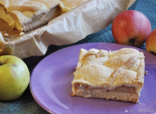 Ciasto jabłkowe bez miksera