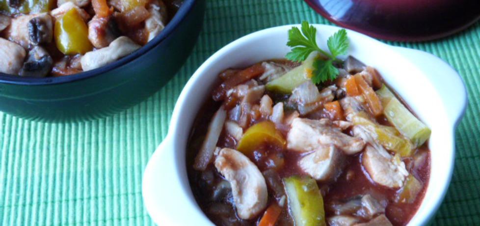 Potrawka z kurczaka z kiszonymi ogórkami (autor: ikrakowianka ...