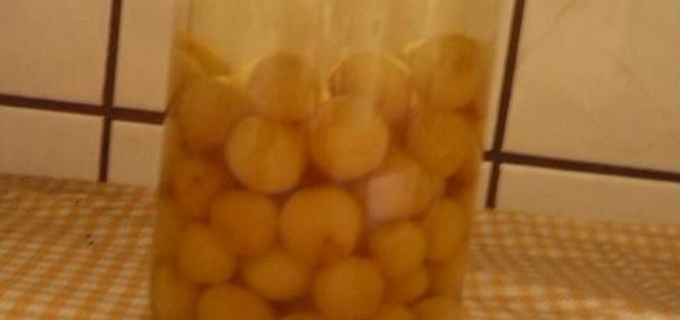 Kompot z żółtych czereśni (autor: neetka90)