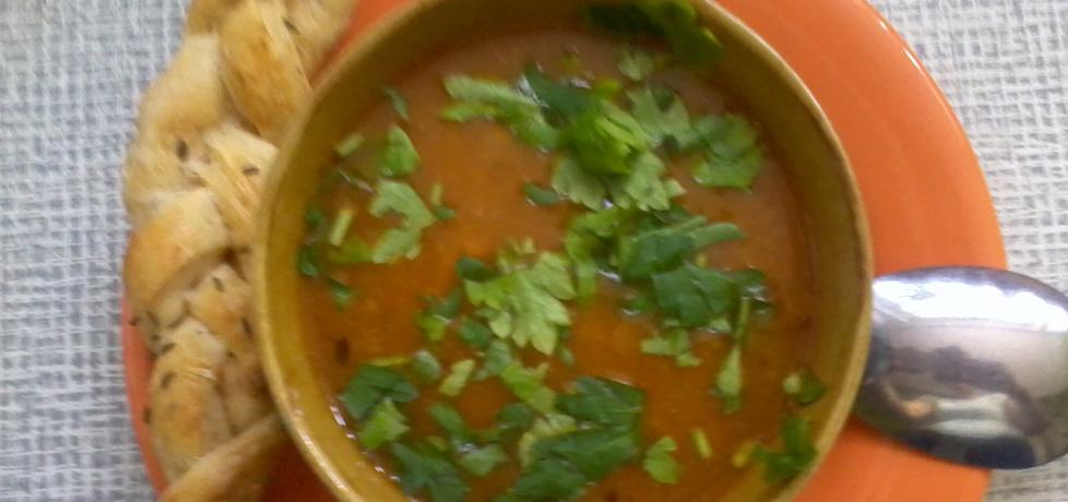Zupa z soczewicy zielonej na ostro (autor: gibli)