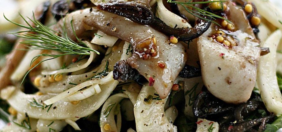 Lekka sałatka z fenkuła z mątwą (autor: kuchnia