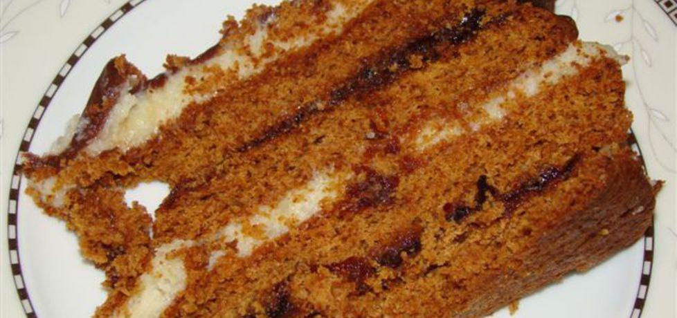 Tort piernikowy (autor: katarzynakate1980)