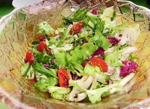 Surówka z mieszanki sałat