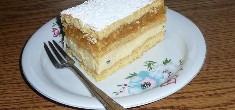 Ciasto z jabłkami i gotowanym serem (autor: justyna92 ...