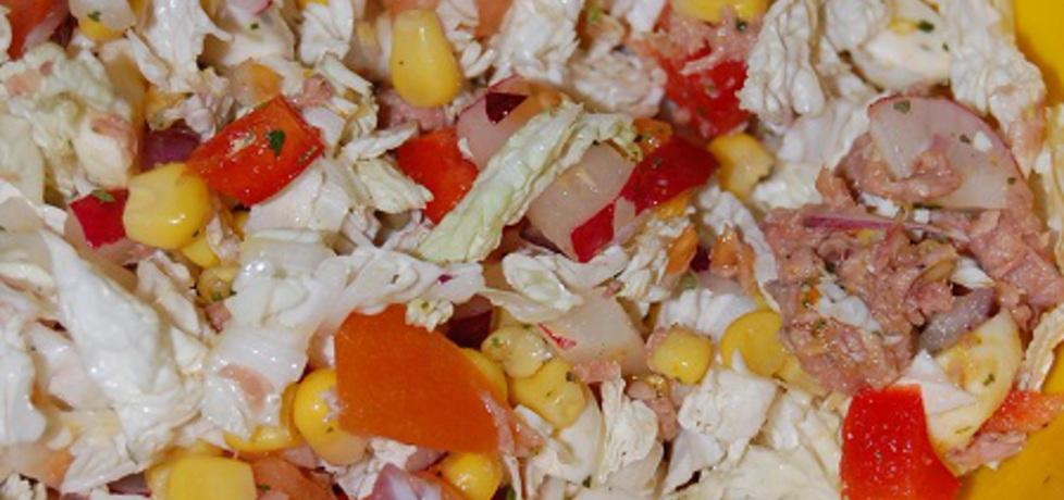 Sałatka z tuńczykiem i mozzarellą (autor: aleksandraolcia ...