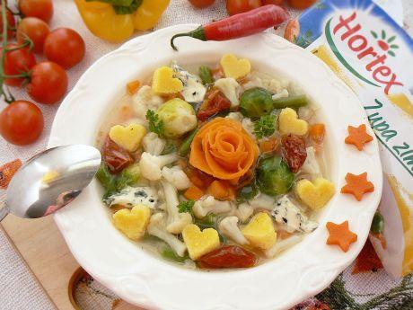 Przepis  włoska zupa z polentą przepis