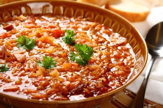 Kapuśniak w pomidorach